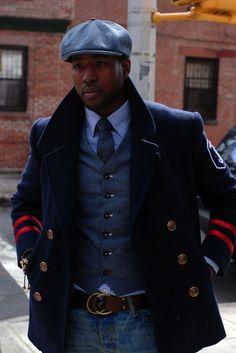 the captain's coat