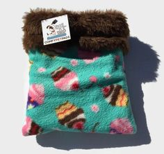 Cupcake Snuggle Sack, Hedgehog Cuddle Sack, Bonding Pouch, Hamster Bedding, Guinea Pig Bed, Carrier Pouch, Sugar Glider Pouch, Nesting Bed by ComfyPetPads on Etsy