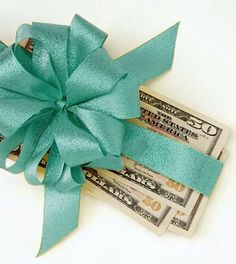 for money as a wedding gift takes just a bit of etiquette, and cash ...