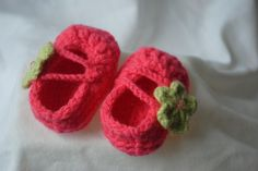 Crafty Expressions: Crochet Baby Shoes