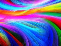fractal rainbow ocean