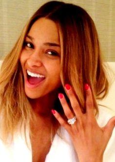Ciara Engagement and Birthday