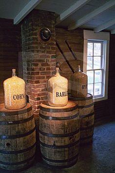 Jack Daniels Distillery, Barley, Corn, And Rye, Lynchburg, Tennessee