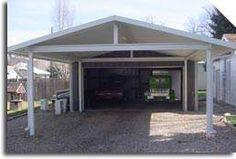 carport kits do it yourself | Panther Creek Carports, garages, sheds, awnings, metal, DIY