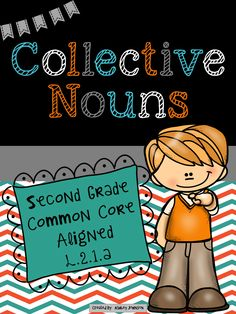 Collective Nouns are so much fun to teach!!! This packet has everything you need to teach your students about Collective Nouns. Common Core Aligned L.2.1.a