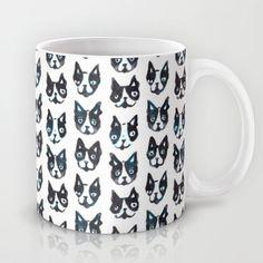 BOSTON TERRIER Mug by Barbra Ignatiev - $15.00
