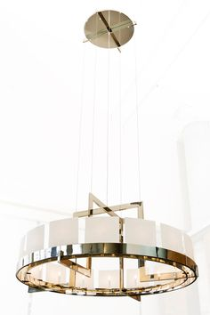 Halo Chandelier by Powell & Bonnell