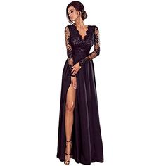4cca1ae2cce Robe éLéGante Hiver ELECTRI 2019 Sexy Clubwear Robe Slim Longue SoiréE  Femmes Haute Maxi Solide Classe