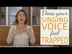 Why Does Your Singing Voice Feel Trapped Or Stuck? Vocal Lessons, Singing Lessons, Singing Tips, Feeling Trapped, Your Voice, Choir, News Songs, Nervous System, How Are You Feeling
