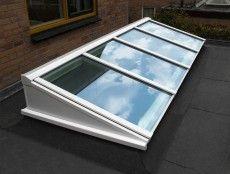 Velux dakraam gebruiken voor plat dak