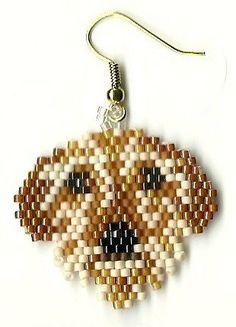 Hand beaded  sweet little Wire hair Dachshound dog by jjsims43, $9.99