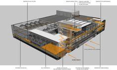 Barcelona Sur Power Generation Plant, Barcelona, Spain | Forgas Arquitectes