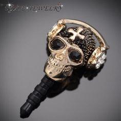 Skull Cellphone Dust Plug