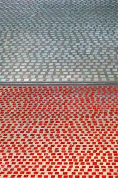 Glass mosaic flooring by Carlo Scarpa in the Olivetti showroom in Venice Floor Patterns, Tile Patterns, Textures Patterns, Carlo Scarpa, Architecture Details, Interior Architecture, Cristina Celestino, Paving Pattern, Terrazzo Flooring