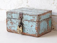 View our Painted Wooden Box from the Gifts For The Home collection Unique Gifts, Best Gifts, Money Jars, Vintage Gifts, Home Collections, Thoughtful Gifts, Wooden Boxes, Primitive, Decorative Boxes