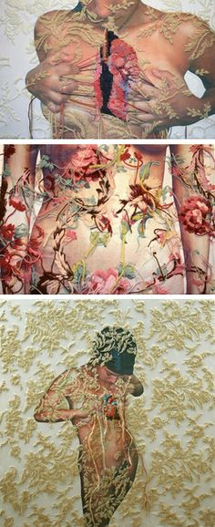 Awesome stuff here. Knitted and Embroidered Artworks by Ana Teresa Barboza