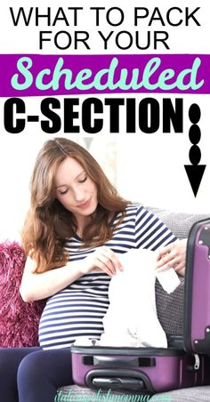 Wondering what to pack for your scheduled c-section? Here are 15 things I've packed for my planned c-sections and I'm about to pack for my fourth c-section delivery! C-section hospital bag must haves you won't want to be without after you have your baby! Pregnancy Workout, Pregnancy Tips, Pregnancy Belly, Csection Hospital Bag, Breastfeeding After C Section, Breastfeeding Tips, C Section Workout, Scheduled C Section, Hospital Bag For Mom To Be