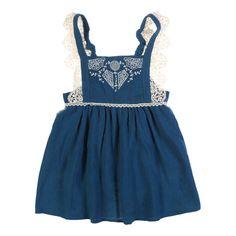 Robe Tablier Brodée Celia Louise Misha Enfant- Large choix de Mode sur Smallable, le Family Concept Store - Plus de 600 marques.