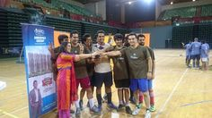 Amrapali Group Participating In Futsal Challenge