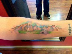 Colorado Mountain Tattoo Tattoos colorado mountains