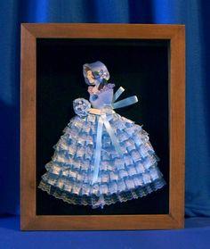 Vintage Ribbon Doll