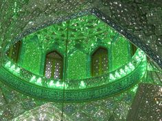 Ayeneh Kari  used in the decoration of Persian palaces and mosques
