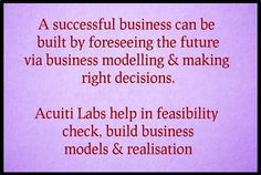 Acuiti Labs uses skills in different technologies to help you achieve your business goals. Visit today to know more >> http://acuitilabs.co.uk/our-offerings/
