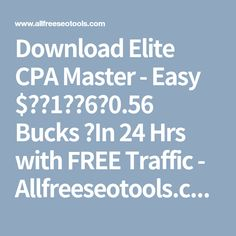Download facebook messenger marketing blueprint free download elite cpa master easy 1 6056 bucks in 24 hrs with free traffic allfreeseotools malvernweather Gallery