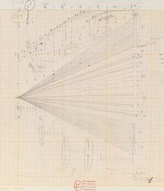 Iannis Xenakis, Study for Terretektorh (glissandi)