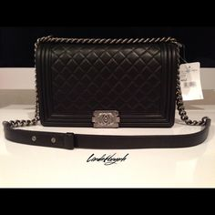 Chanel Bag Brand new. 100% Authentic Chanel Le Boy Bag. New Medium. Includes original box, care booklet, dust bag, and authenticity card. Often sold out. Stunning! For additional photos, email: LindaHuynhBusiness@gmail.com CHANEL Bags Shoulder Bags