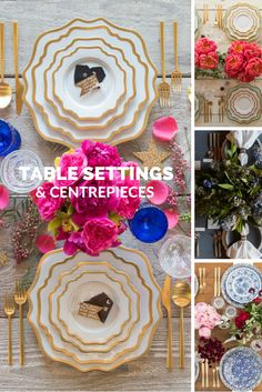 Table Settings at Coastal Lifestyle