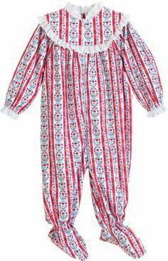 Girls Lanz Pajamas For The Grandkids Girls Christmas