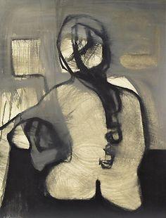 C. Glassert, Mid-Century Modern Abstract Portrait http://inland-delta.tumblr.com/image/147498387976