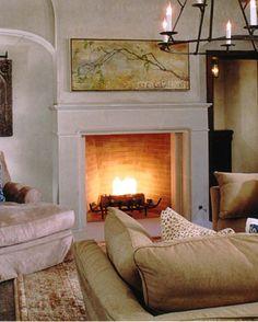 Conrad Cast Stone Fireplace Mantels - 48 - Old World Stoneworks Stone Fireplace Surround, Stone Fireplace Mantel, Fireplaces, Fireplace Ideas, Contemporary Fireplace Mantels, Interiors, House, Dallas, Bob
