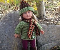 Ravelry: Fall Warmth Doll Outfit