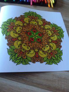 Enige echte mandala kleurboek stabilo 68