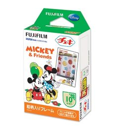 The Mickey Mouse Fuji Instax Mini Film is one of many adorable and functional products in the MochiThings collection. Polaroid Instax Mini, Fuji Instax Mini, Instax Mini Film, Fujifilm Instax Mini 8, Instax Camera, Poloroid Camera, Mickey And Minnie Love, Mickey And Friends, Mickey Mouse