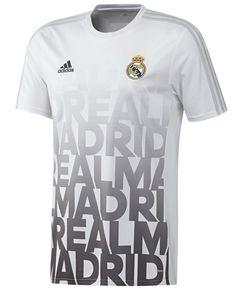 4febb8fc7 Real Madrid 2015 2016 Men White Training Top Shirt Real Madrid Football  Club