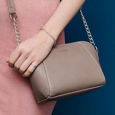 DAVIDJONES women messenger bags pu leather female crossbody bags small lady  chain shoulder bag girl brand handbag drop shipping cb78af206dc1c