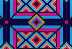 모칠라 백 도안 - 4 : 네이버 블로그 Tapestry Crochet Patterns, Crochet Stitches Patterns, Cross Stitch Patterns, Native American Patterns, Graph Paper Art, Contemporary Embroidery, Tapestry Bag, Crochet Purses, Cross Stitch Flowers