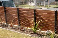 Image result for short wooden horizontal fence