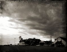 at the inlet in Ocean City, Maryland #blackandwhite