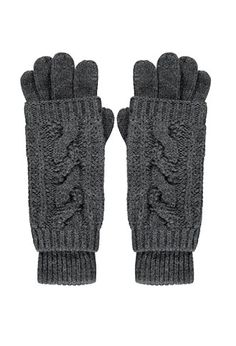 2-in-1 Cable Knit Gloves | Forever 21 - 2000171854