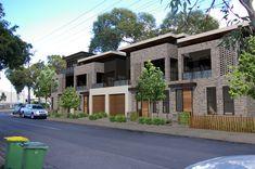 Cross Street Garage Doors, Architecture, Street, Outdoor Decor, Home Decor, Arquitetura, Decoration Home, Roads, Interior Design