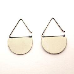 Ceramic Jewelry, Ceramic Beads, Clay Jewelry, Wood Earrings, Polymer Clay Earrings, Jewelry Clasps, Jewelery, Mirrored Sunglasses, Jewelry Design