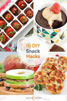 10 DIY Snack Hacks to Satisfy Every Craving via Veggie Snacks, Diy Snacks, Salty Snacks, Yummy Snacks, Healthy Food List, Healthy Eating For Kids, Healthy Eats, Dog Treat Recipes, Snack Recipes