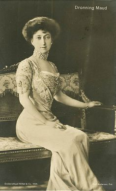 Königin Maud von Norwegen, Queen of Norway
