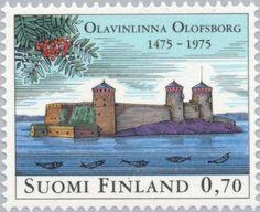 Sello: Stronghold Olavinlinna (Finlandia) (Stronghold Olavinlinna) Mi:FI 769,Sn:FI 577,Yt:FI 733,AFA:FI 776