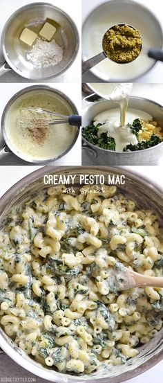 I bought a little jar of pesto recently and have been having fun finding ways to add it to everyday recipes. Yesterday I noticed a half bag of macaroni that had been sitting in my pantry for a few mon