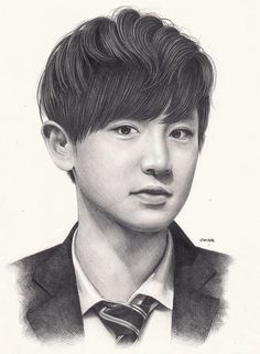 Fanart | EXO Chanyeol